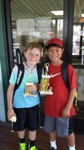 Long Beach Junior Tournament B10s Singles Champion JUNE 2015