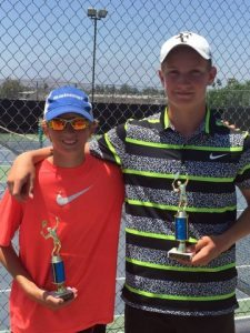 Mountain Resorts Tournament, 14U Doubles Champion, AUGUST 2015