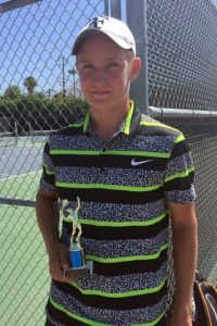 Mountain Resort Tournament, 14U Singles Finalist, August 2015