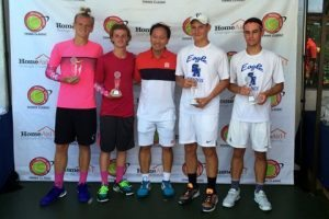Michael Chang Tennis Classic, High School Boys Doubles Finalist, JULY 2015