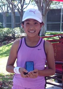 Woodbridge Tennis Classic, 12U Champion, August 2015