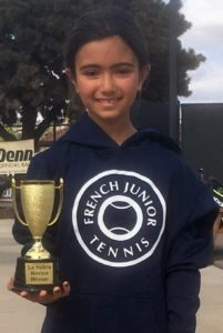 La Habra Tennis Center Fall Jr G10U Champion October 2016